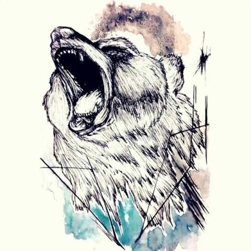 Fotos de Tatuagens de Urso