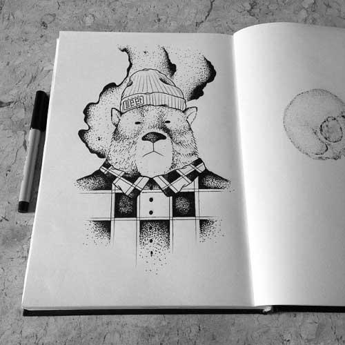 Imagens de Tatuagens de Urso
