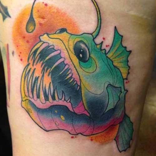 30 Imagens/Desenhos De Tattoos De Peixes + Significado