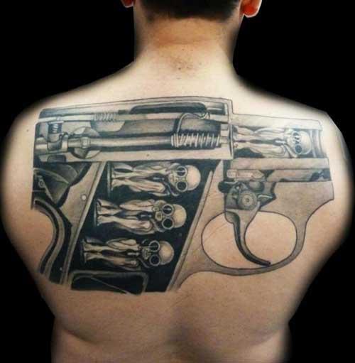 Tatuagens de Armas