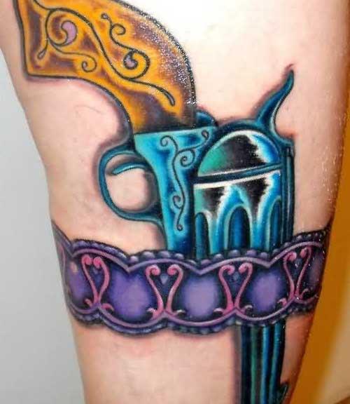 Fotos de Tatuagens de Armas