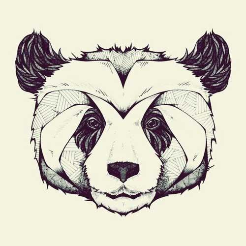 tattoos de panda
