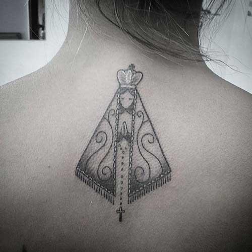 20 Fotosdesenhos De Tatuagens De Nossa Senhora Católica