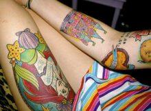 Tatuagens de Sereia