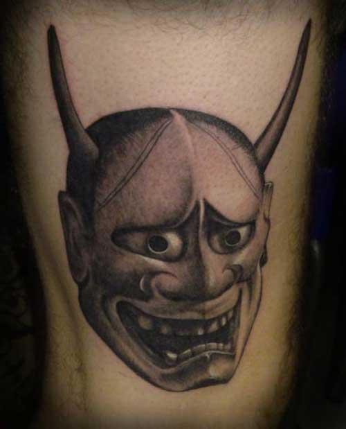 diabo tatuado