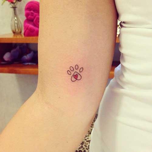 20 Fotosdesenhos De Tatuagens De Patinhas Significados