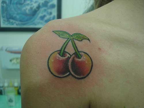dicas de tatuagem de cereja