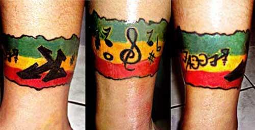 30 Fotos De Tatuagens De Reggae Masculinas E Femininas