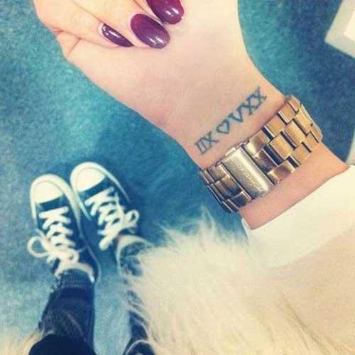 fotos de tatuagens de datas