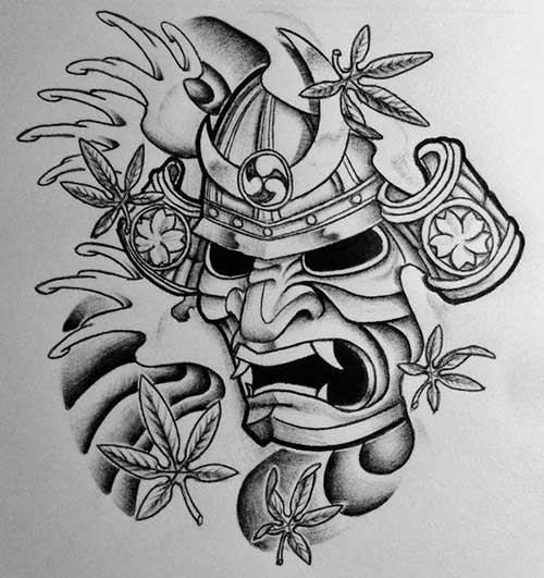 25 Fotos De Tatuagens De Samurai Orientais Masculinas