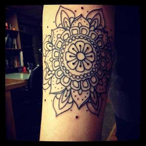 Tatuagens de Mandala