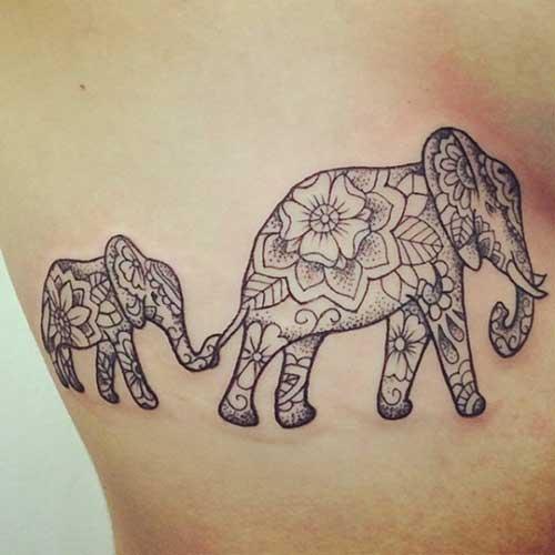 Elephant Mandala Tattoo Tattoos T Tatuajes Elefantes Y: 20 LINDAS Fotos De Tatuagens De Elefante + Desenhos