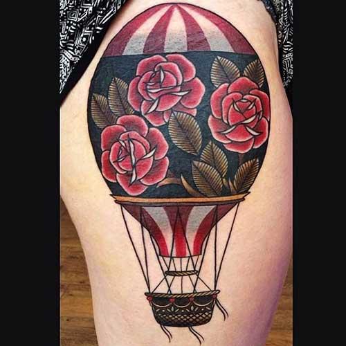 Fotos de Tatuagens de Balão