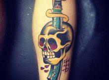 tatuagens de espadas