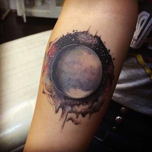 Fotos de Tatuagens de Planetas