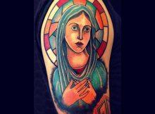 Tatuagens de Santa