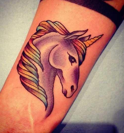 tatuagens de unicórnios