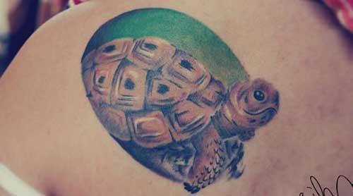 Tatuagens de Tartarugas