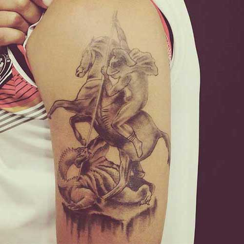 tatuagem de oxum