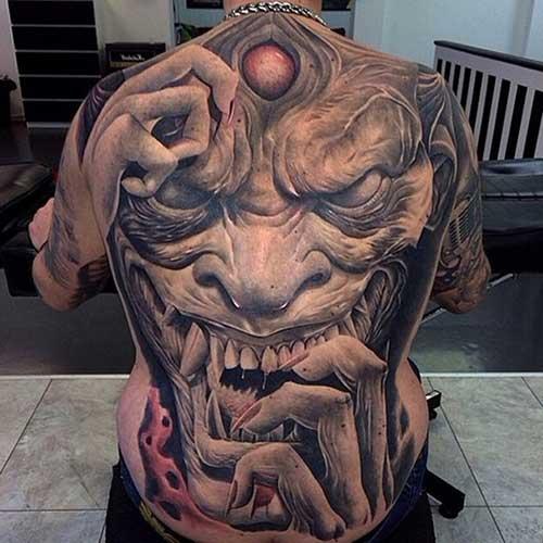 desenhos de tatuagens de demônios