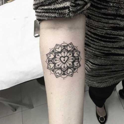Fotos de Tatuagens de Mandala