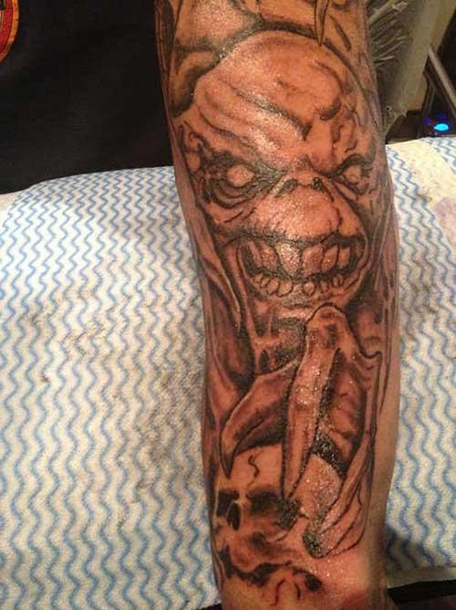 tattoos de demônios