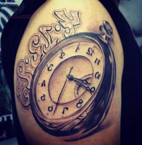 20 Fotos/Desenhos De Tatuagens De Relógio + Significados