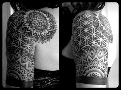 69 Fotos De Tatuagens De Mandala Masculina E Feminina