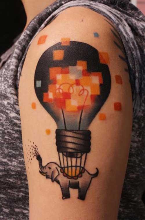 tattoos de balões