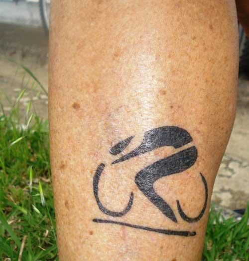 tatuagens de bicicleta