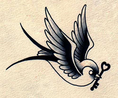 59 Lindas Tattoos De Andorinha Fotos Significado