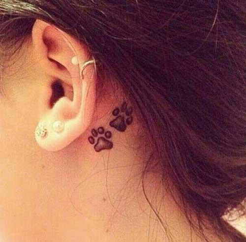 50 Lindas Tatuagens Na Orelha Masculinas E Femininas