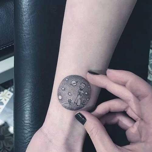tatuagens do pequeno principe