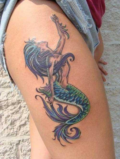 Tatuagens de Iemanjá