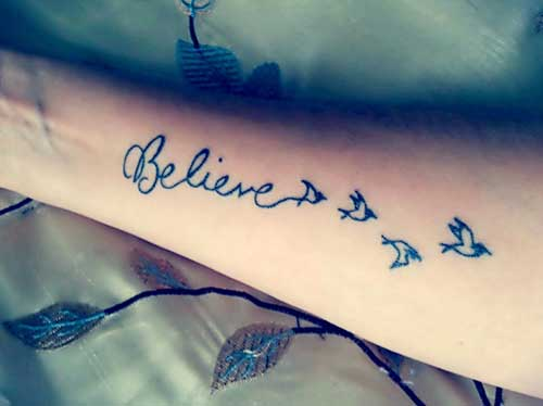 Tattoos Believe