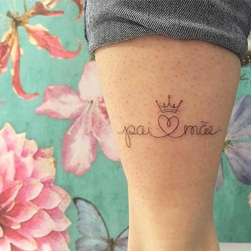 Tatuagens Frases Pai E Mae Frases E Mensagens Em Imagens