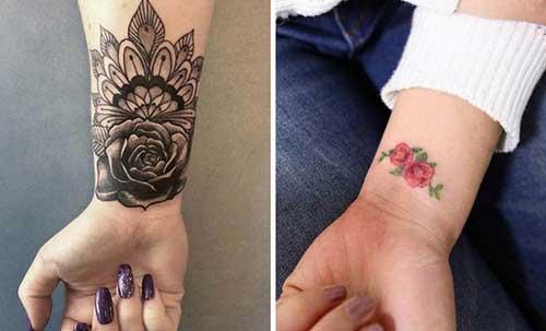 modelo de tatuagem no pulso