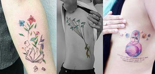 20 Bonitas Tatuagens Do Pequeno Príncipe Para Tatuar