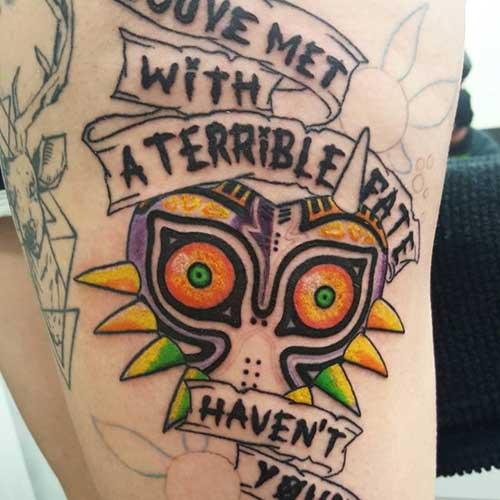 fotos de tattoos do zelda