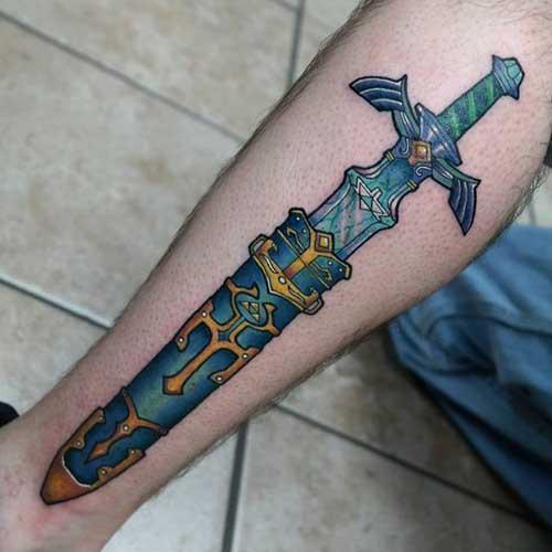 tatuagens do zelda