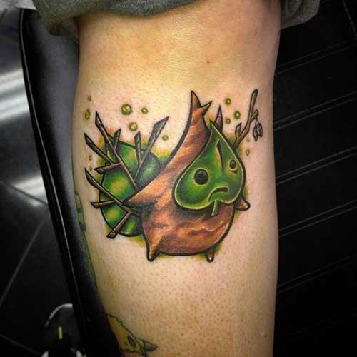 imagens de tatuagens do zelda
