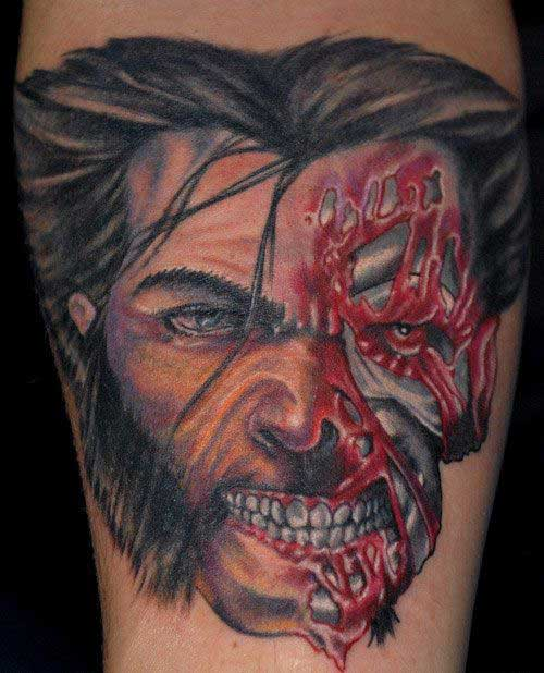 tattoos do wolverine