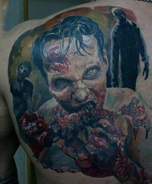 tatuagens de zumbis