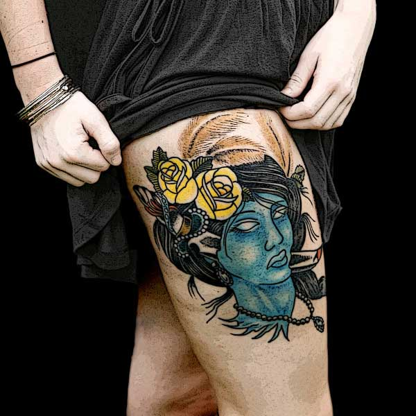 tattoo de zumbi
