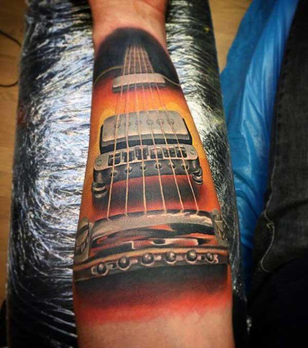 tattoo de violão