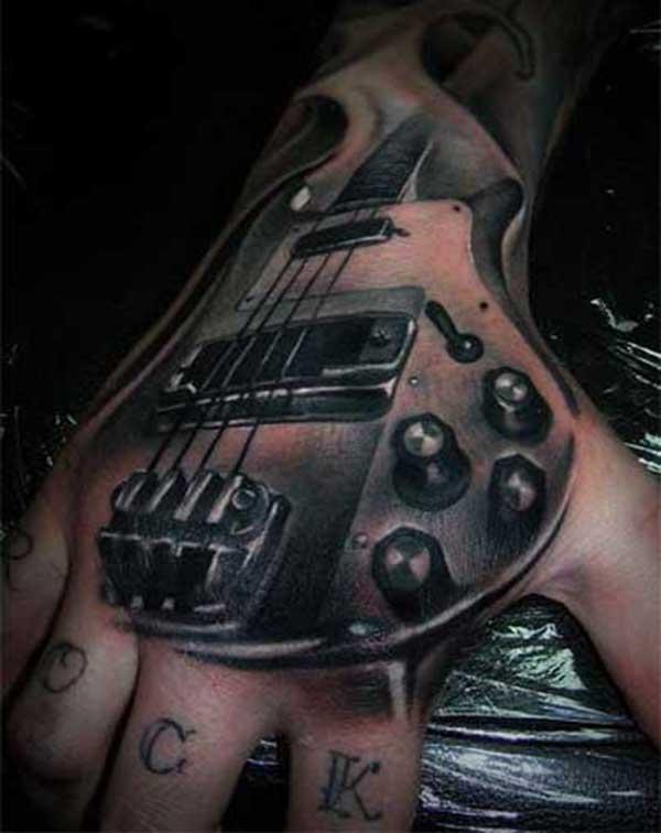 25 Tatuagens Perfeitas De Violao Guitarra E Baixo Imagens