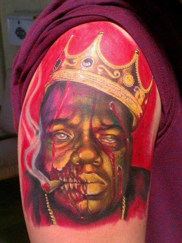 tatuagem de zumbi