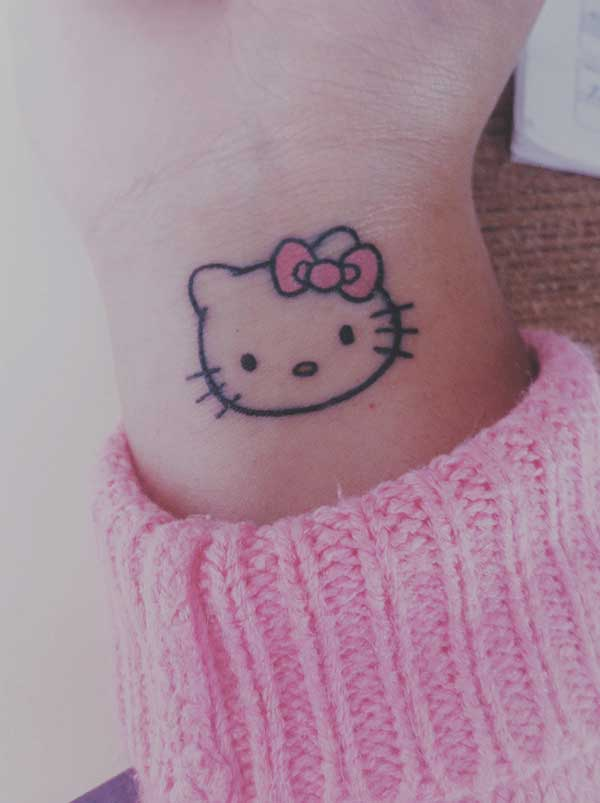 tatuagens da hello kitty