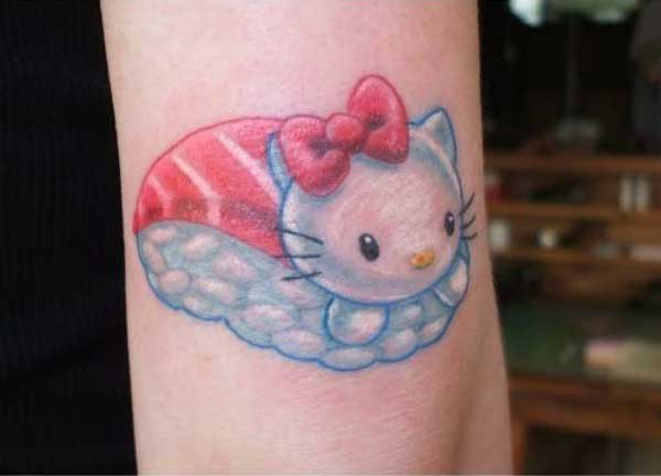imagens de tatuagens da hello kitty