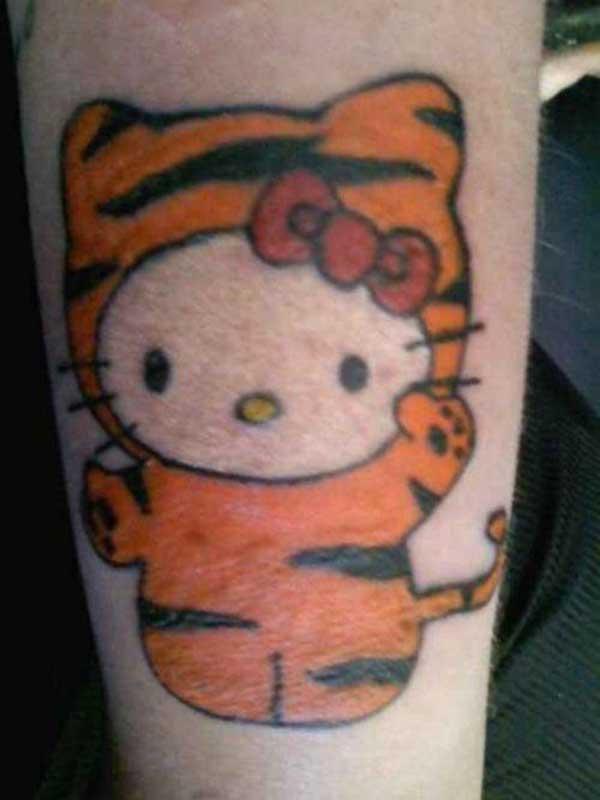 desenhos de tatuagens da hello kitty